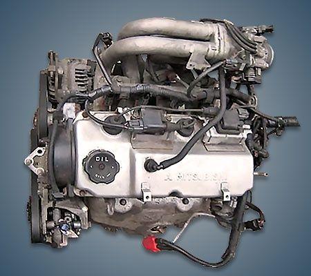 Двигатель Mitsubishi Space Star 4G18 1.6