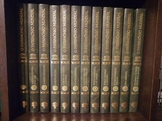 Colecção 12 livros O Património Mundial, UNESCO