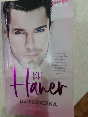 Książka Dziedziczka K.N Haner