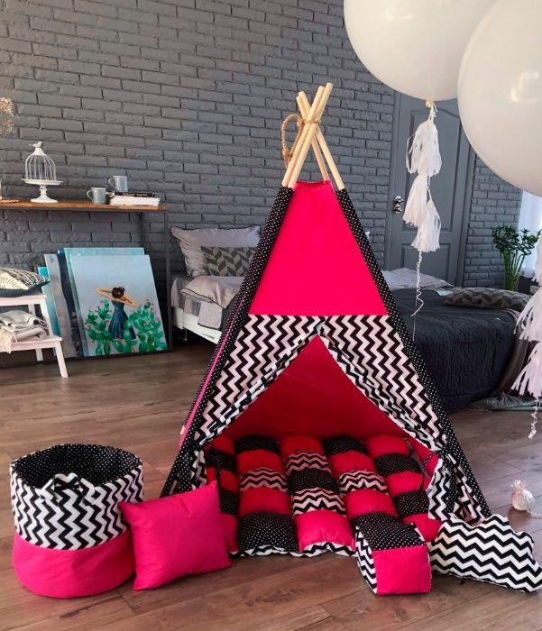 Акция. Домик, детский вигвам, палатка, типи. Подарок при заказе. Харьков - изображение 1