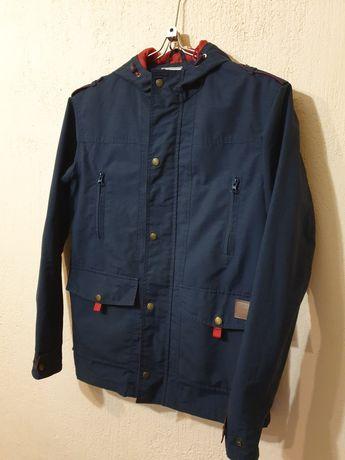 Мужская курточка, парка синего цвета Staff M