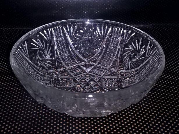 Salaterka szklana PRL