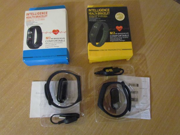 Фитнес трекер браслет часы Bluetooth Smart Band M3
