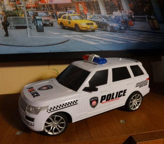 машинка Range Rover police джип