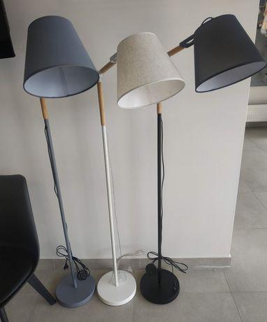 Торшер в скандинавском стиле, лофт, серый, белый, чёрный
