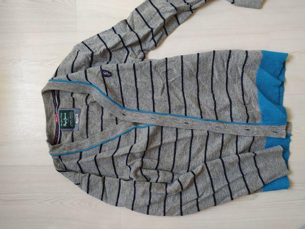 Sweter meski rozpinany