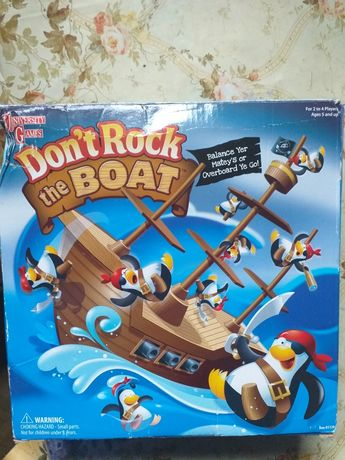 Don't rock the boat gra
