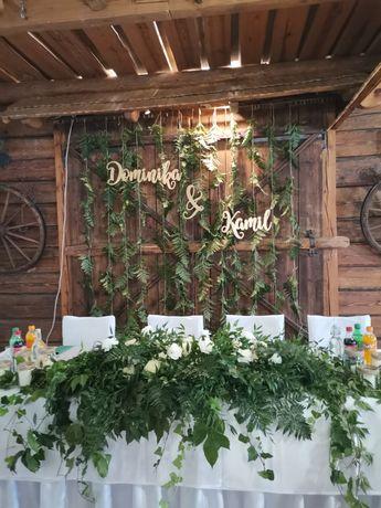Florystyka ślubna, dekoracja kościoła, sali weselnej, bukiety ślubne