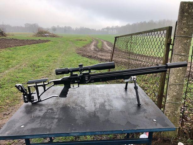 Karabinek/Wiatrówka FX Dreamline SABER Tactical 7,62 Tuning Tłumik pcp