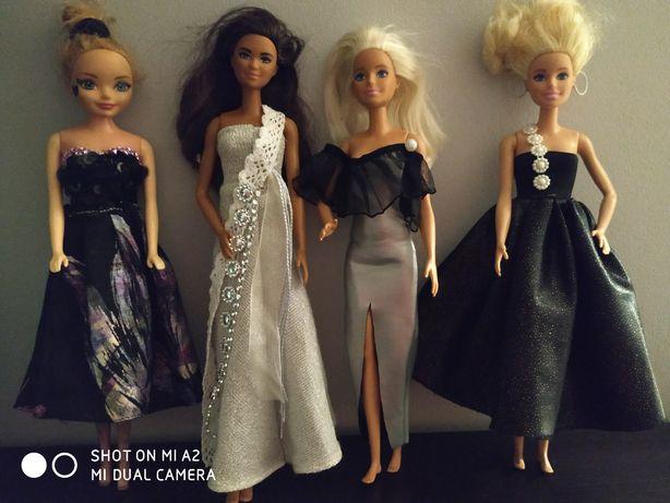 Ubranka dla Barbie suknie