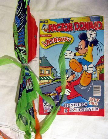 Komiksy Kaczor Donald 29/2005r, 15,17,34,43/2007r. z dodatkami