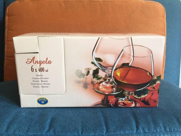 Бокалы для бренди/коньяка Bohemia Angela 6 x 400 мл