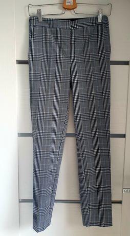 Eleganckie spodnie w kratkę Zara
