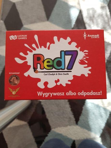 NOWA ! Gra karciana Red7 Red 7 Wygrywasz odpadasz Lucrum Games Asmadi