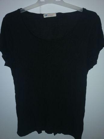 Футболка чёрная базовая H&M 146-152