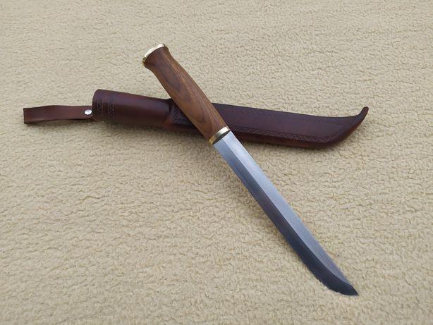 Nóż custom ręcznie robiony Leuku