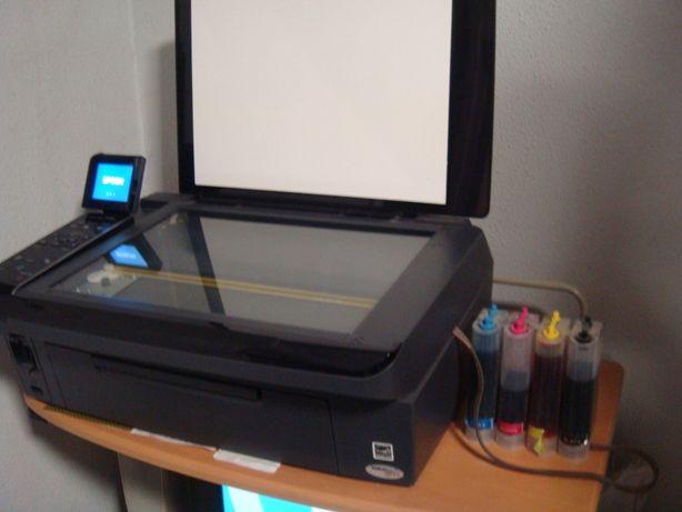 Цветной принтер МФУ EPSON TX410+СНПЧ
