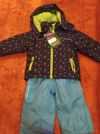 Kombinezon zimowy chłopięcy spodnie i kurtka zimowa