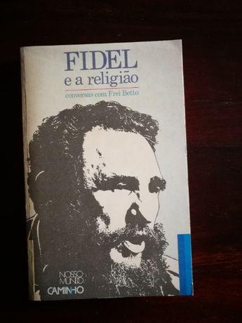 Fidel e a Religião - Conversas com Frei Betto (LIVRO RARO DA CAMINHO)