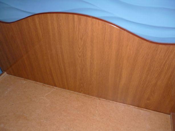 Кровать односпальная с ортопедическим матрацом