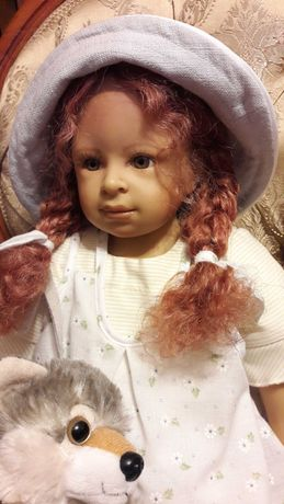 Lalka porcelanowa. Heidi Plusczok.