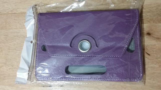 """OBROTOWE --- Etui CASE UNIWERSALNE --- Tablet 7 """" Fiolet"""