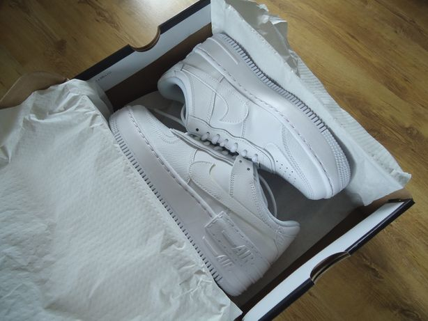 Nike Air Force 1 Shadow White Białe damskie eu39