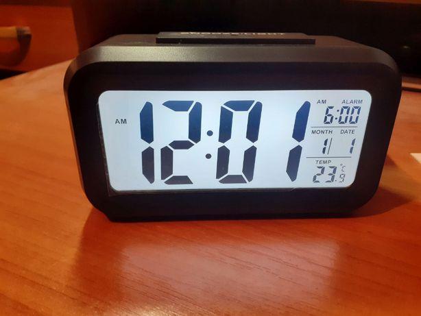 Budzik LED zegarek Mrosaa 1 cyfrowy z podświetleniem drzemka