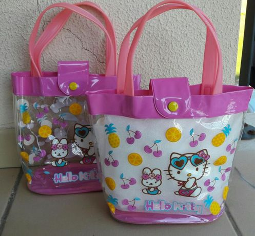 Saco de praia Hello Kitty - menina