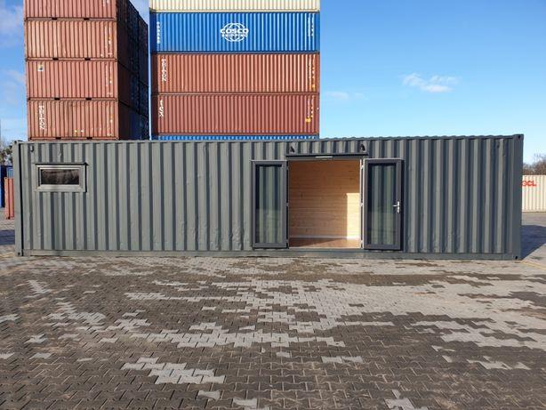Mobilne biuro na bazie kontenera morskiego 40'HC (12m)