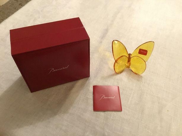 Baccarat lucky butterfly - kryształ dla kolekcjonera