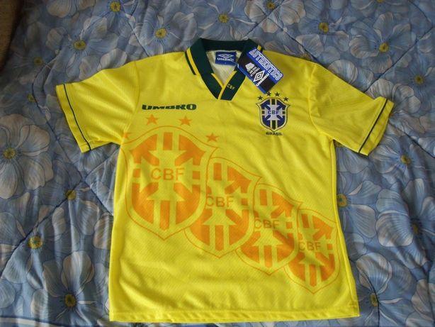 Koszulka piłkarska reprezentacyjna Brazylia stan idealny