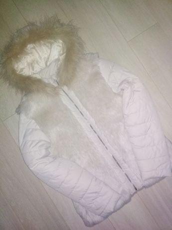 шикарна куртка некст на 11-12років