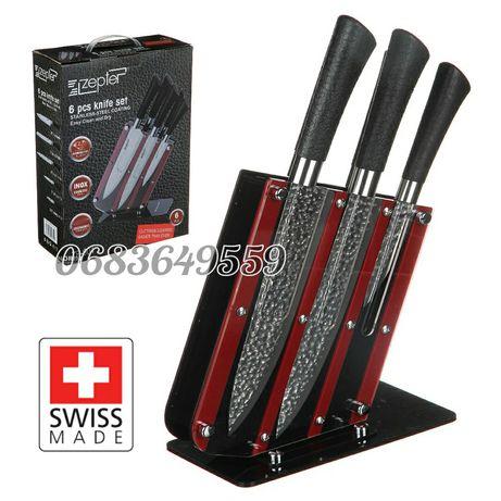 Набор ножей Zepterс мраморным покрытием 6в1 кухонные ножи для кухни