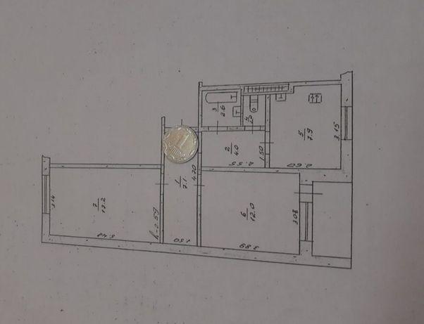 Продам 2 комнатную квартиру Балаклеевский район