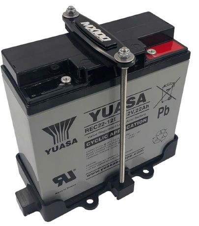 Mocowanie akumulatora Superjet MX100 skuter wodny czarne