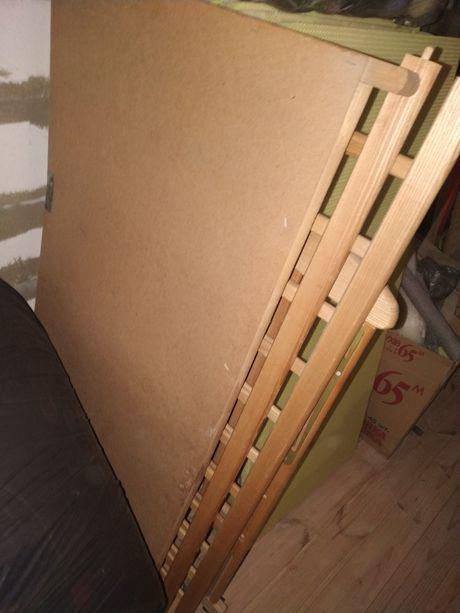 Кровать, матрас, постель+защита, пеленатор+чехол