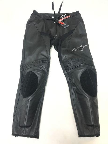 Spodnie Motocyklowe ALPINESTARS NOWE ! USA 38 / EUR 54 Track Leather