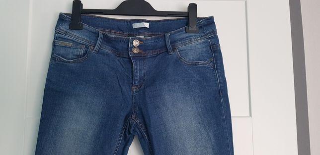 Promod jeansowe robaczki 40