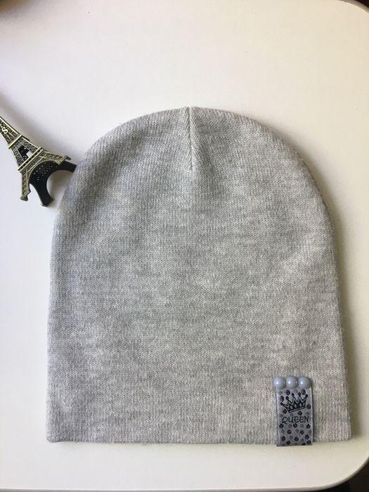 Теплая шапочка для девочки на 4-6 лет Никополь - изображение 1