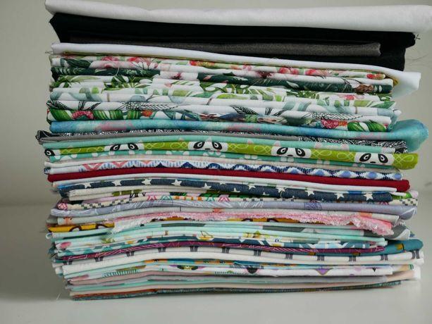 Tkaniny, materiały bawełniane, druk Premium, dziecięce, na maseczki