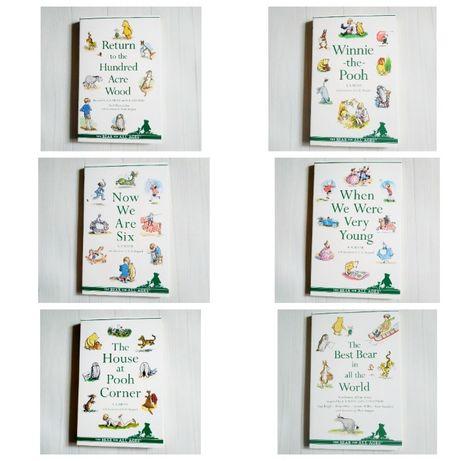 Детская книга на английском Винни Пух