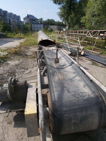Taśmociąg, przenośnik taśmowy 22 m używany