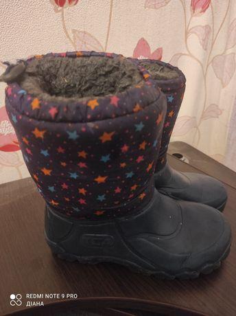 Сапоги/ чоботи зимові