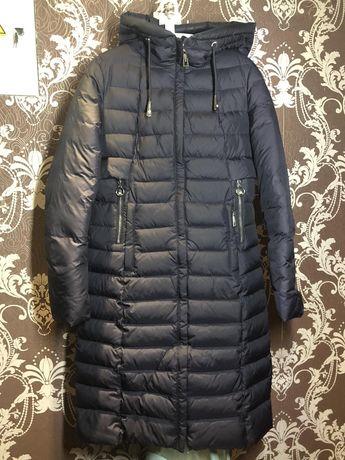 Зимнее пальто длина 110см