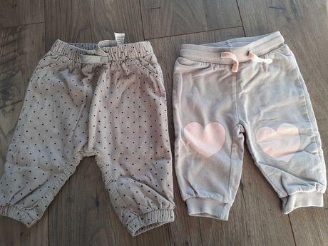 Spodnie dla dziewczynki 68