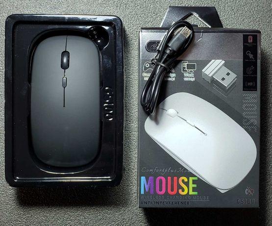 Беспроводная мышка с Li-ion аккумулятором 800 мАч, micro USB кабель