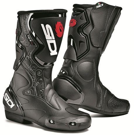 Buty motocyklowe damskie SIDI Fusion Lei czarne roz. 39 nowe