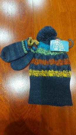 Czapka i rękawiczki dziecięce rozmiar 12-23 miesiące (1 -2 latka)