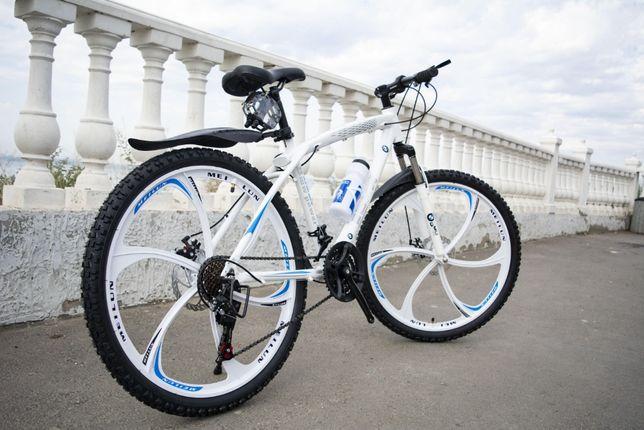 Хит сезона! Велосипед горный на литых дисках, 26''/17'', BMW